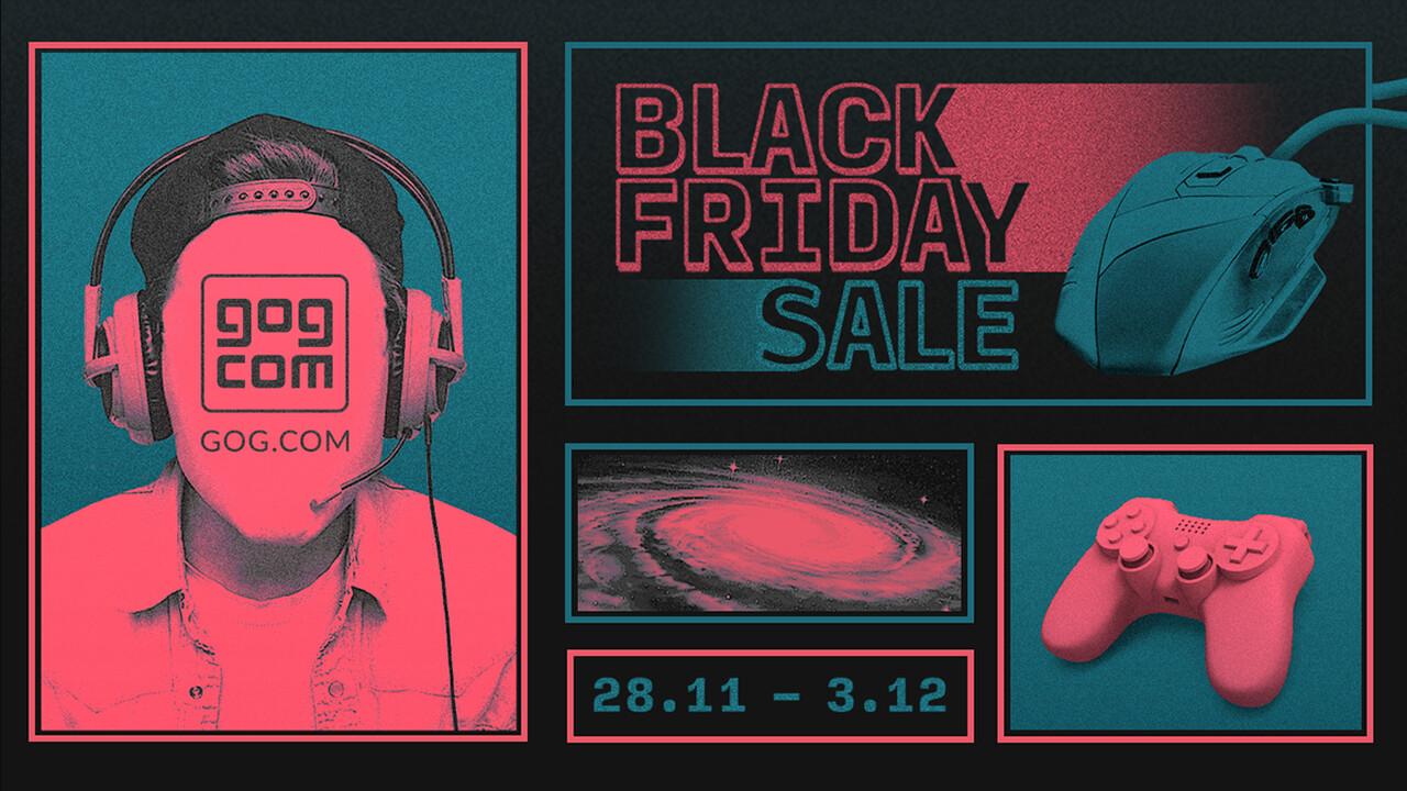 Black Friday Sale: GOG lockt mit Rabatten auf über 2.000 Spiele