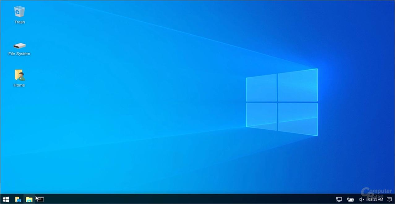... optisch in ein aktuelles Windows 10