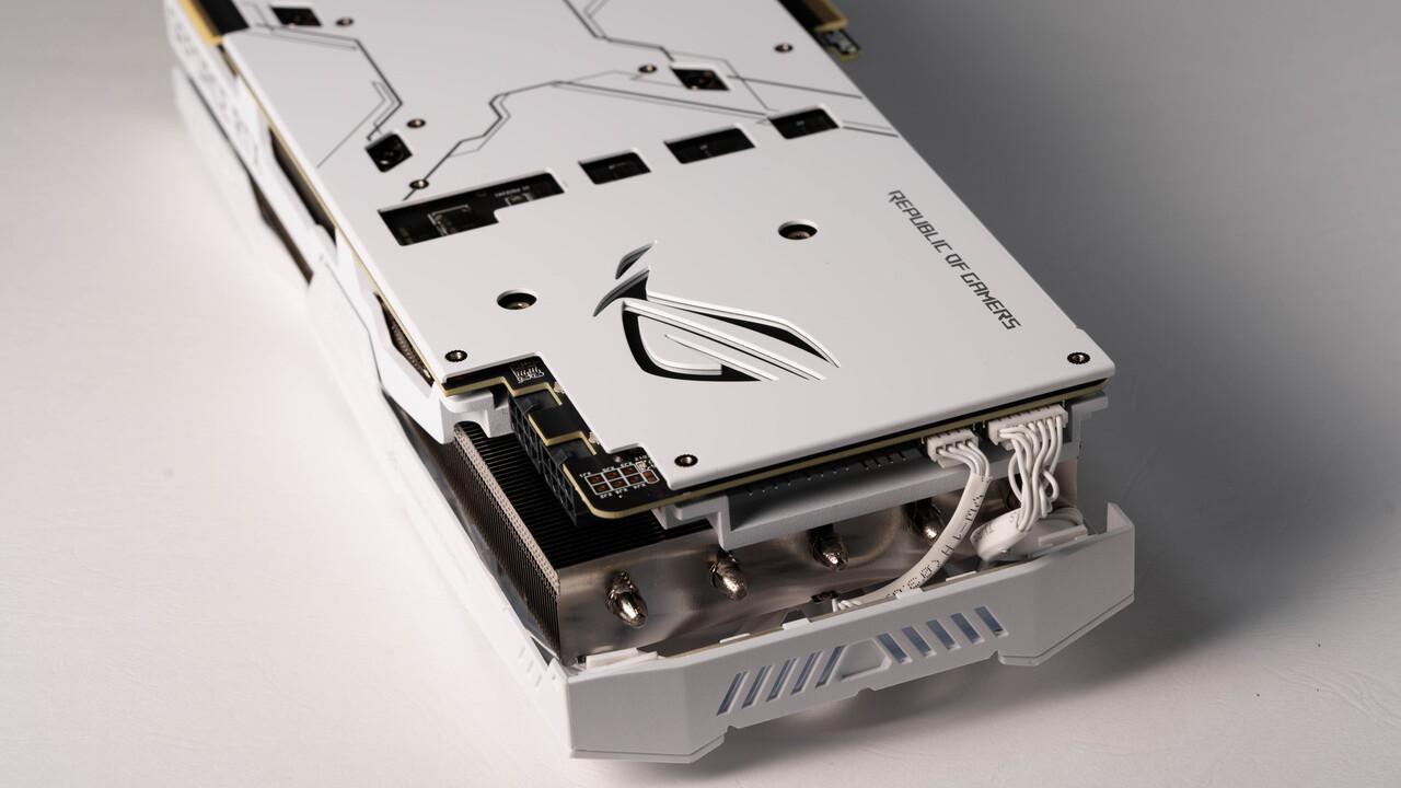 Nvidia GeForce RTX 2080 Ti: Asus legt ROG Strix OC in einer White Edition auf