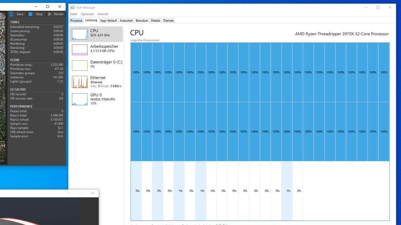 Wochenrück- und Ausblick: CPU-Kerne, so weit der Task-Manager reicht