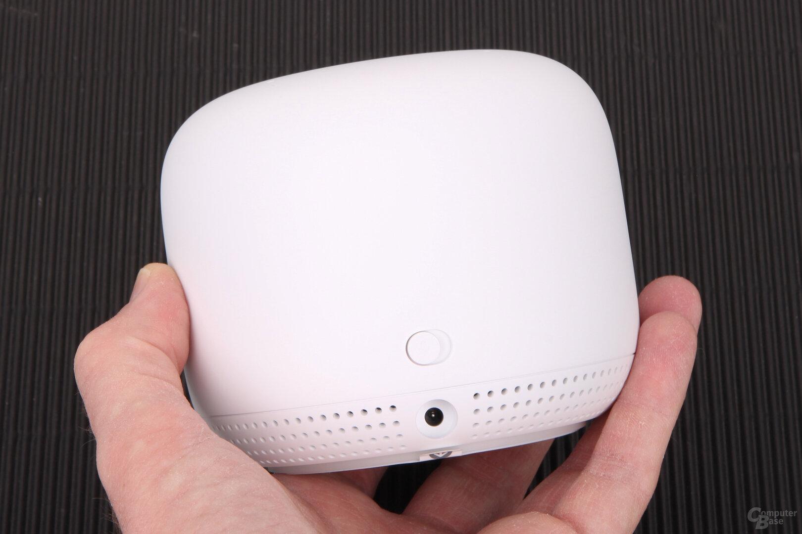 Google Nest WiFi: Der Access-Point ist ein Smart Speaker