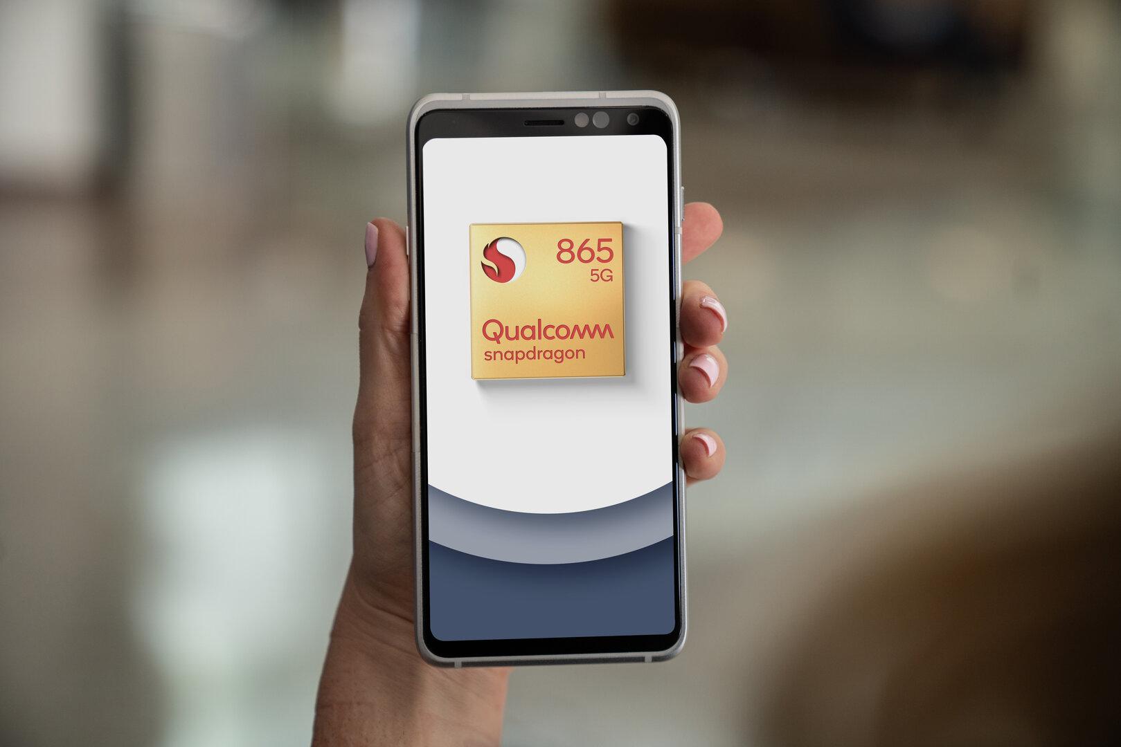 Referenzdesign für ein Smartphone mit Snapdragon 865