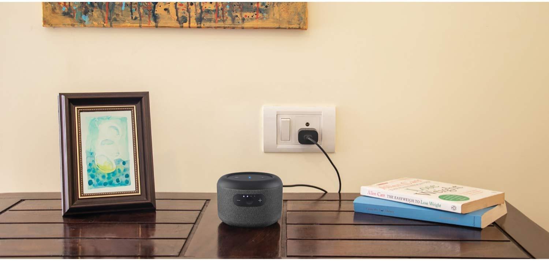 Der Amazon Echo Input Portable kann auch stationär betrieben werden
