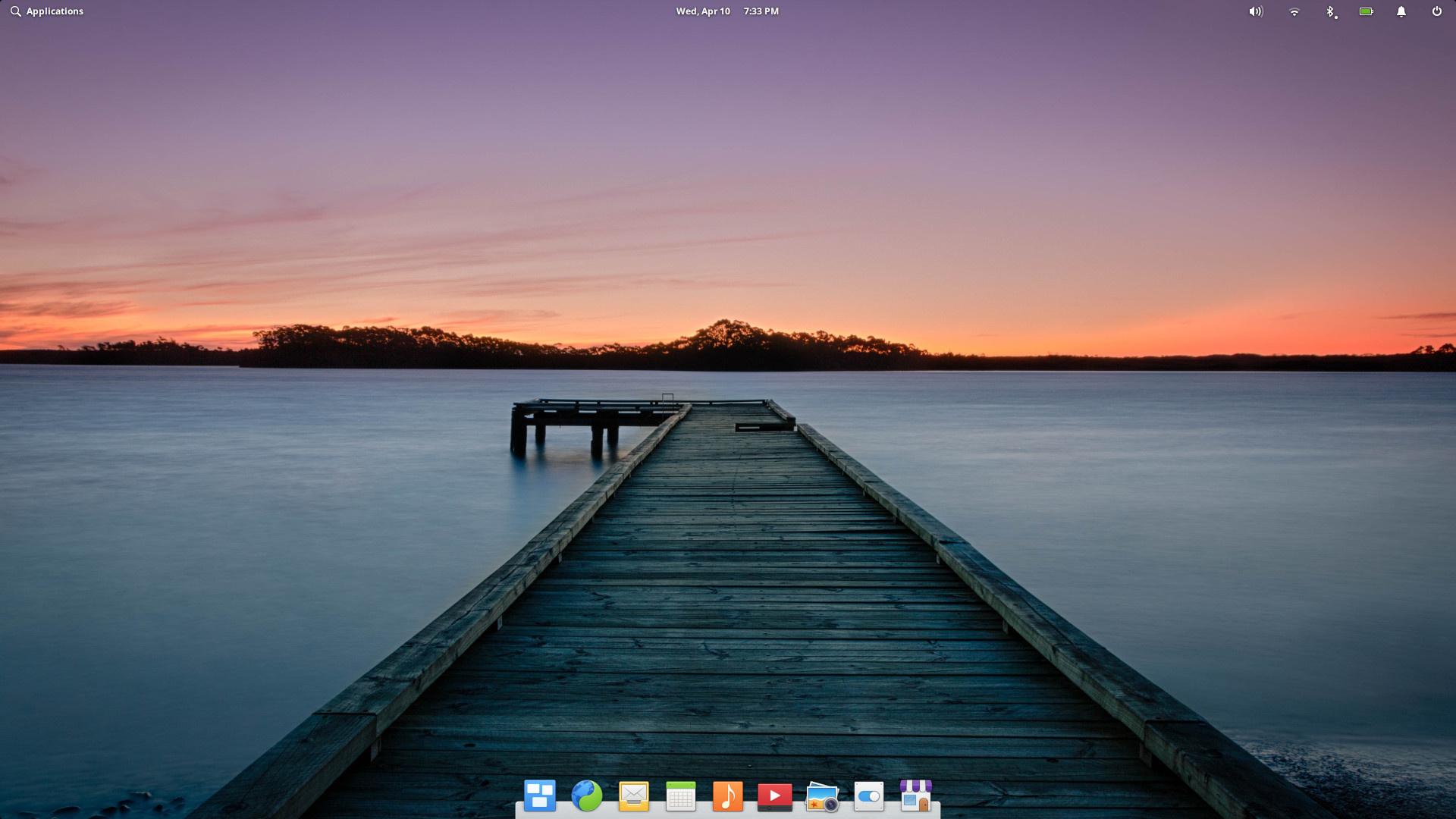 Der Pantheon-Desktop von elementary OS 5.1