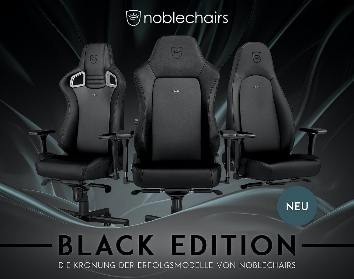 Die neue Black Edition von noblechairs
