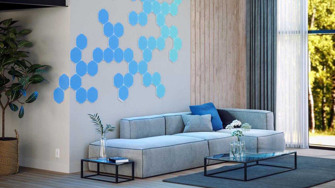 Nanoleaf: Neue LED-Panel-Serie und smartes Beleuchtungssystem