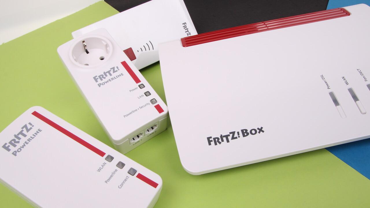 AVM Fritz!Box Mesh-WLAN im Test: Die Fritz!Box 7590 enteilt der Konkurrenz – teilweise