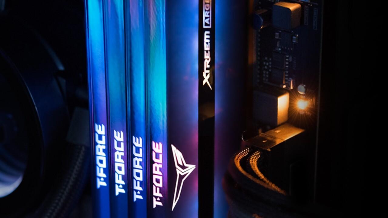 T-Force Xtreem ARGB: Team Group startet Verkauf von DDR4-RAM mit ARGB-LEDs