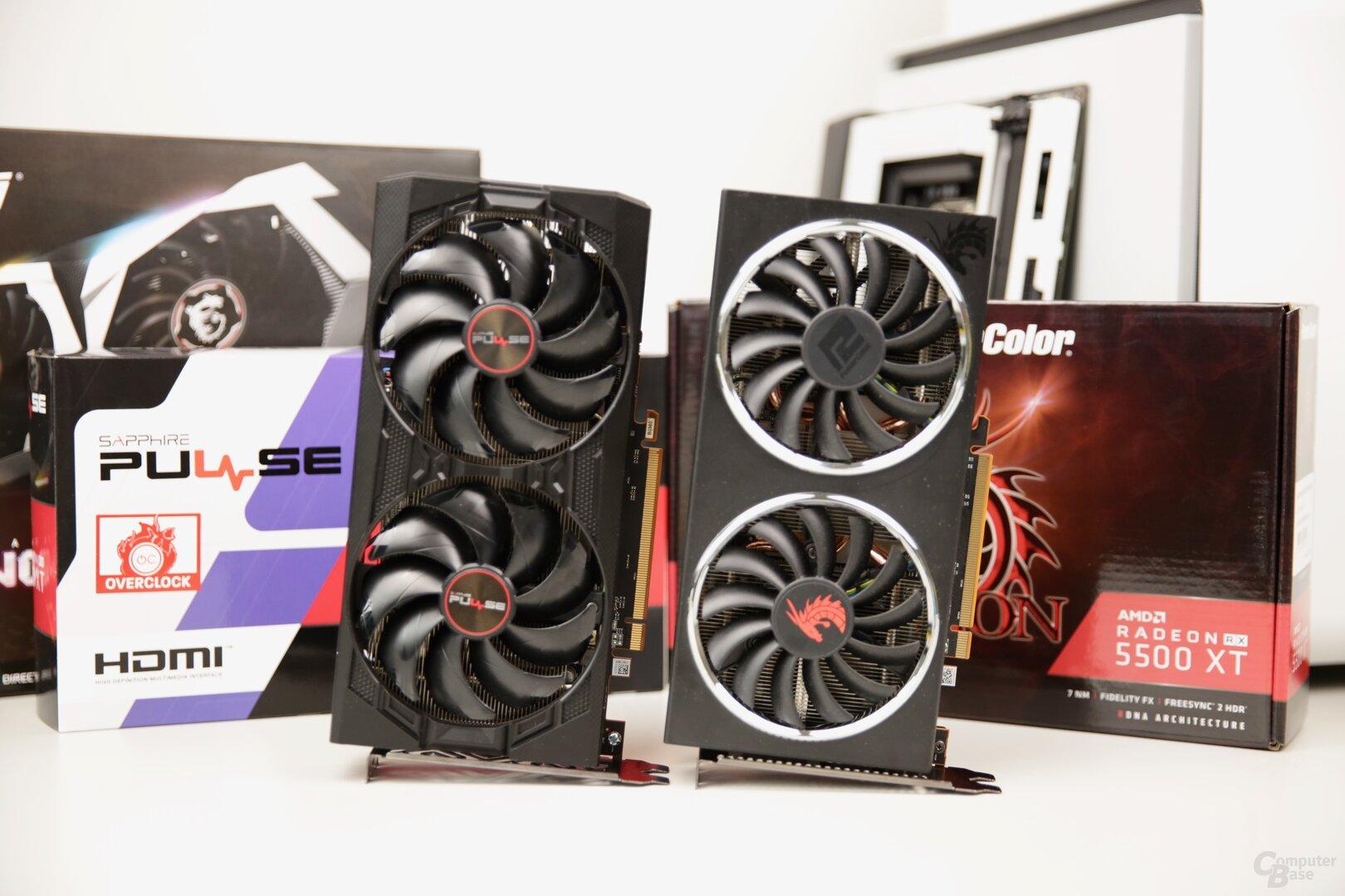 AMD Radeon RX 5500 XT mit 4 und 8 GB im Test