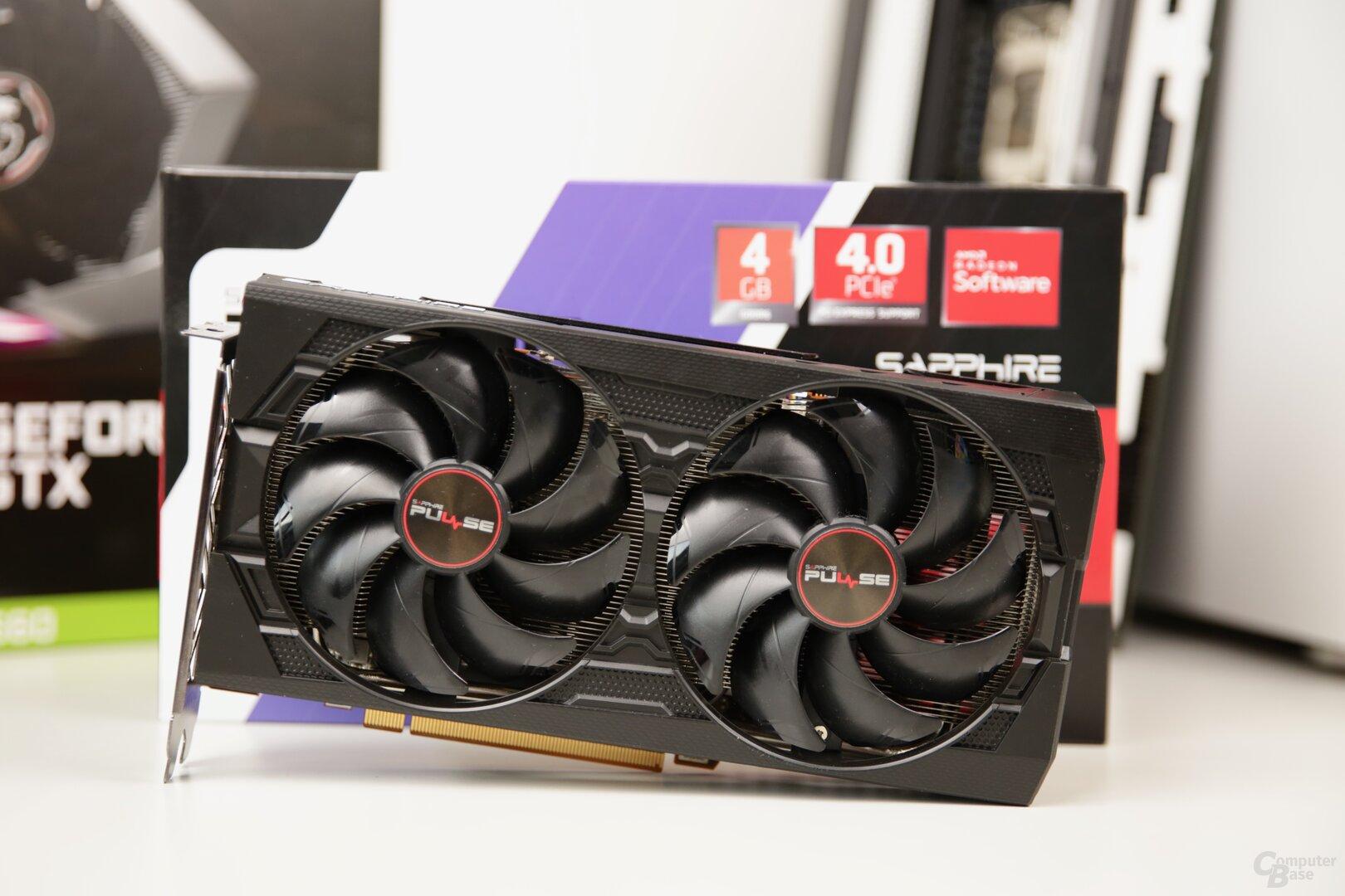 Die Sapphire Radeon RX 5500 XT Pulse (4 GB)