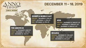 """Anno 1800 – """"Free Week"""": Kostenloses Wuseln vom 11. bis zum 18. Dezember"""