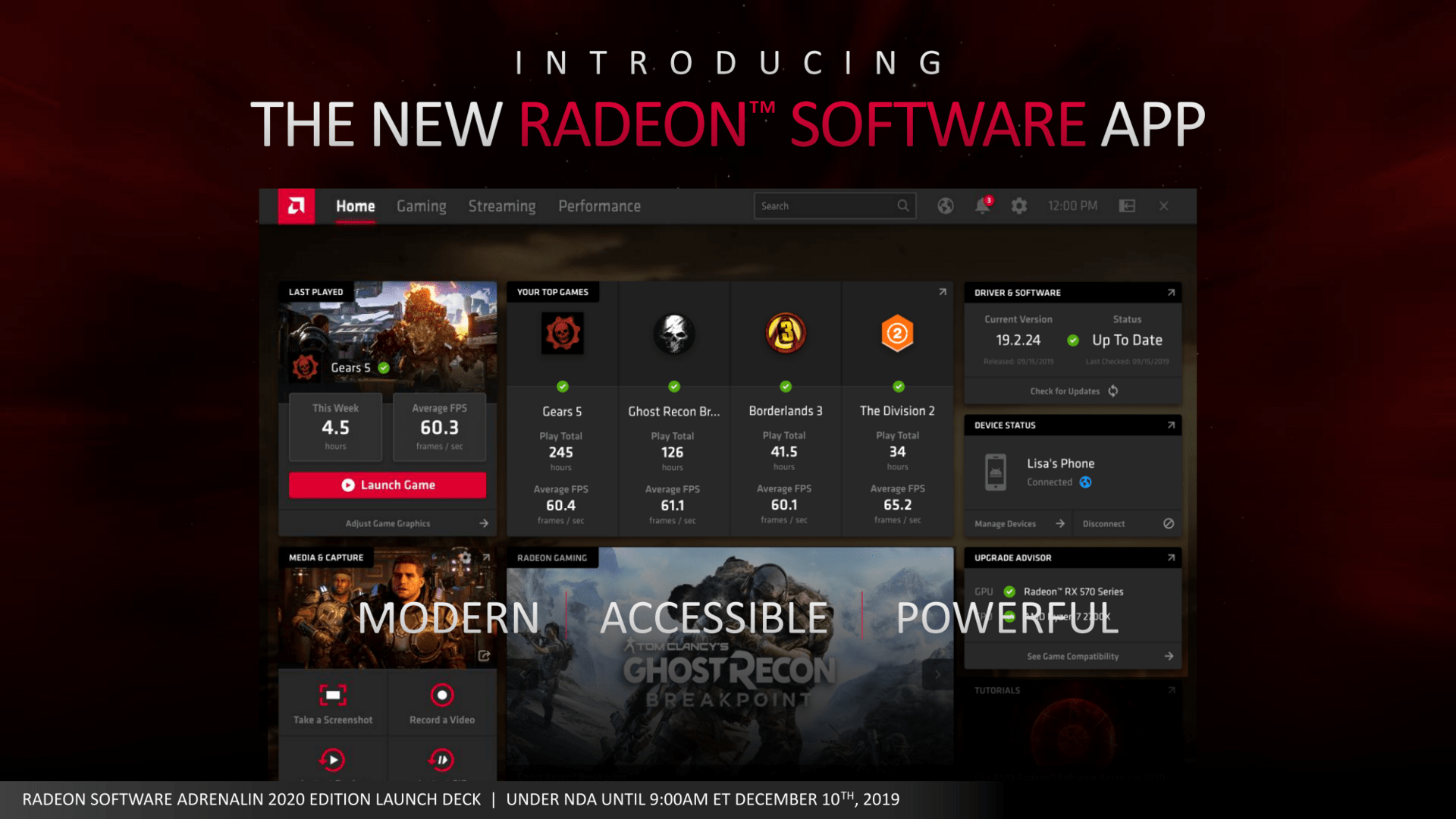 Radeon Software App