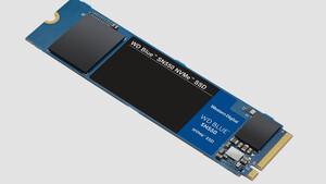 WD Blue SN550: Western Digital beschleunigt Client-SSD