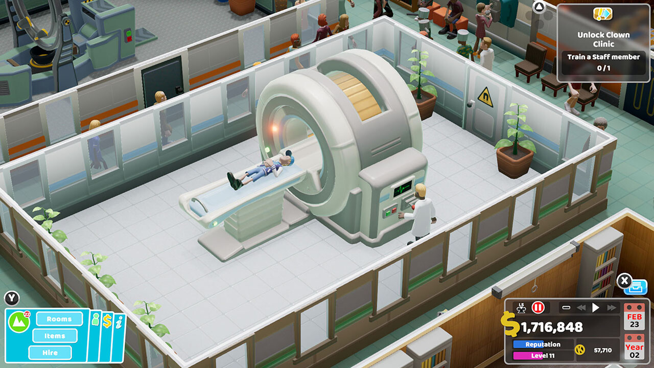Sega: Two Point Hospital ab Ende Februar auch auf Konsolen