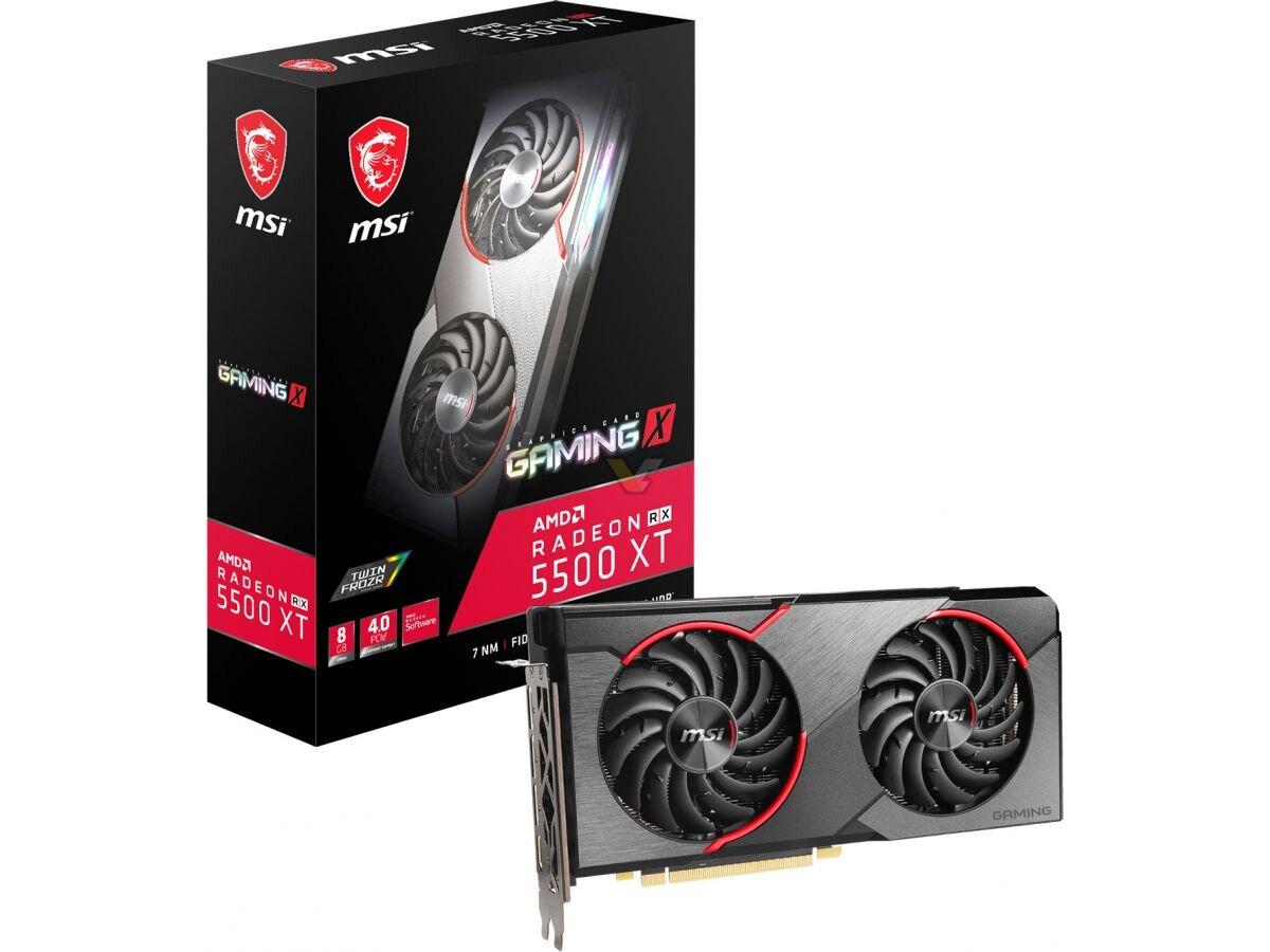 MSI Radeon RX 5500 XT Gaming