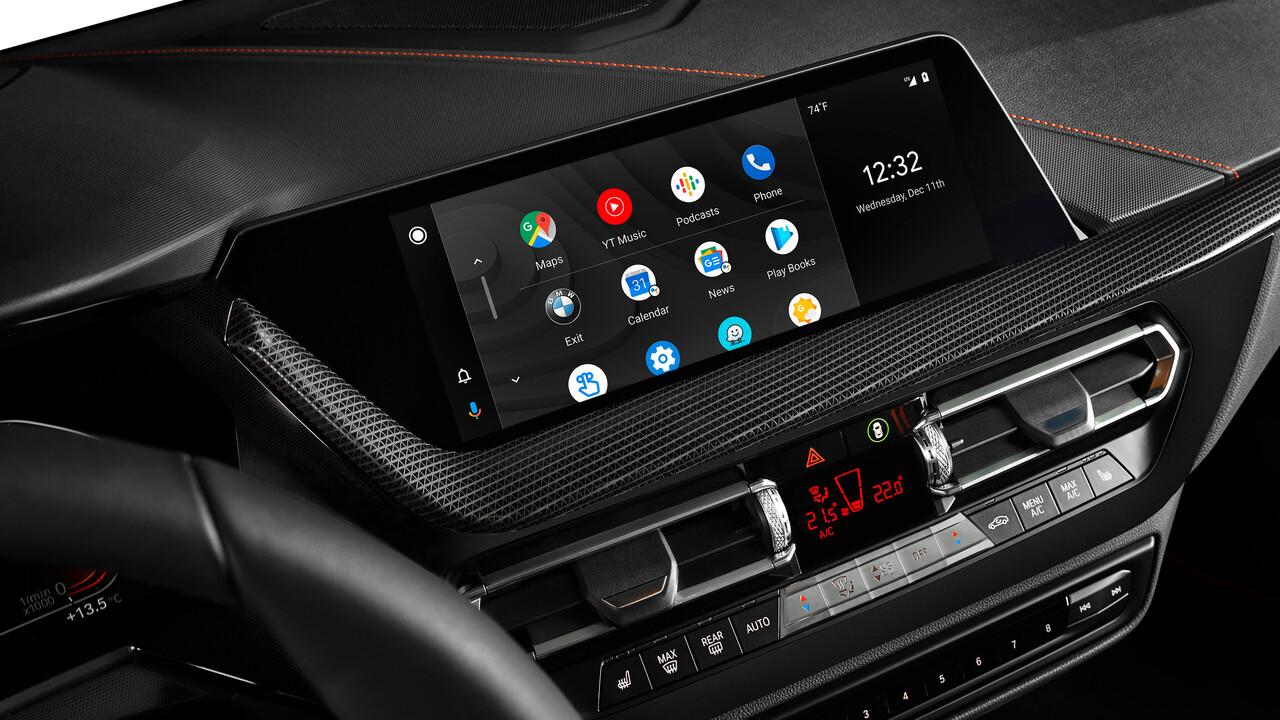 Kabellos und integriert: Android Auto ab Mitte 2020 auch bei BMW