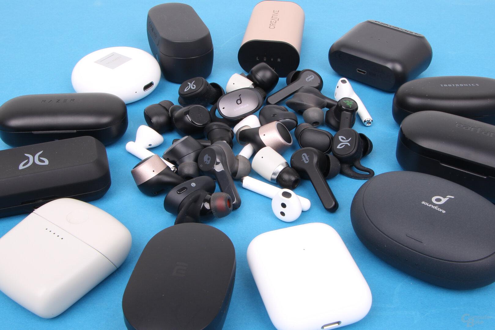 True Wireless Earbuds im Test