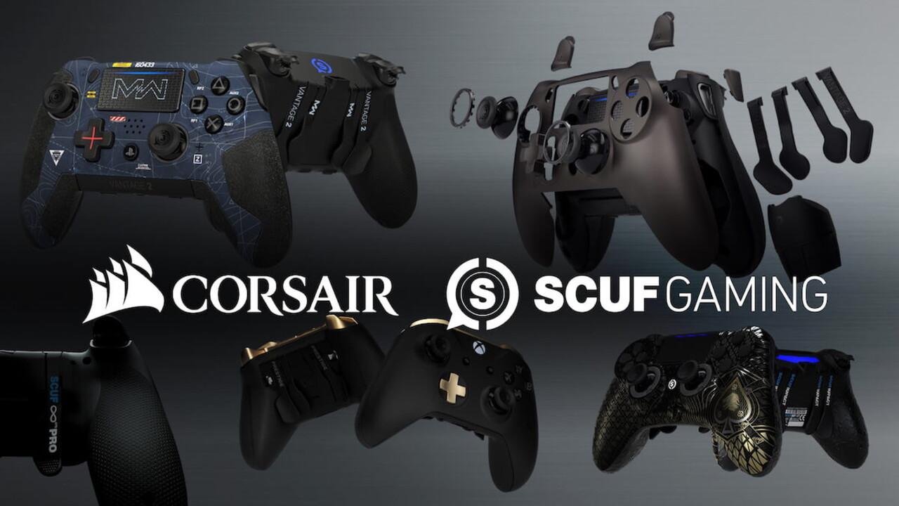 Übernahme: Corsair kauft Controller-Hersteller Scuf Gaming