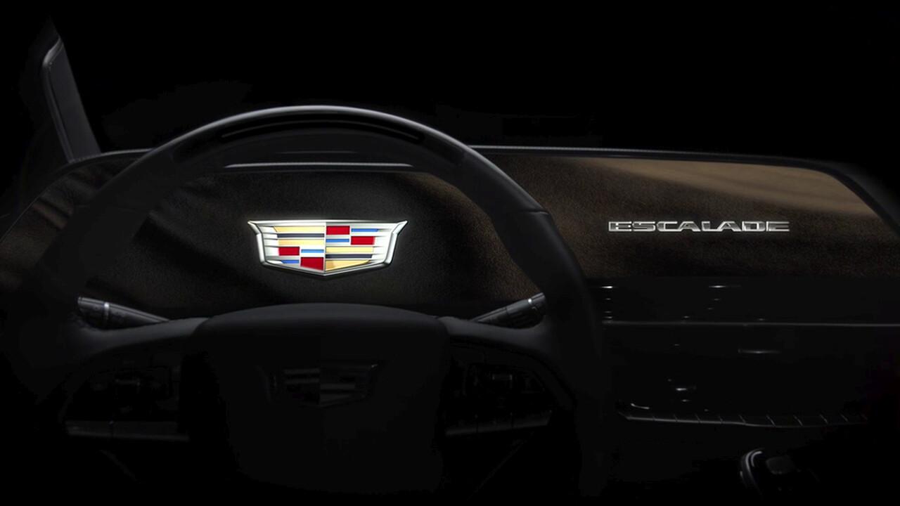 OLED: Neuer Cadillac Escalade kommt mit 38-Zoll-Display