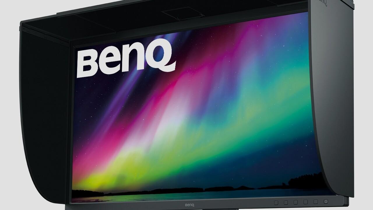 BenQ PhotoVue SW321C: 4K-Monitor verspricht Farbtreue für Fotografen