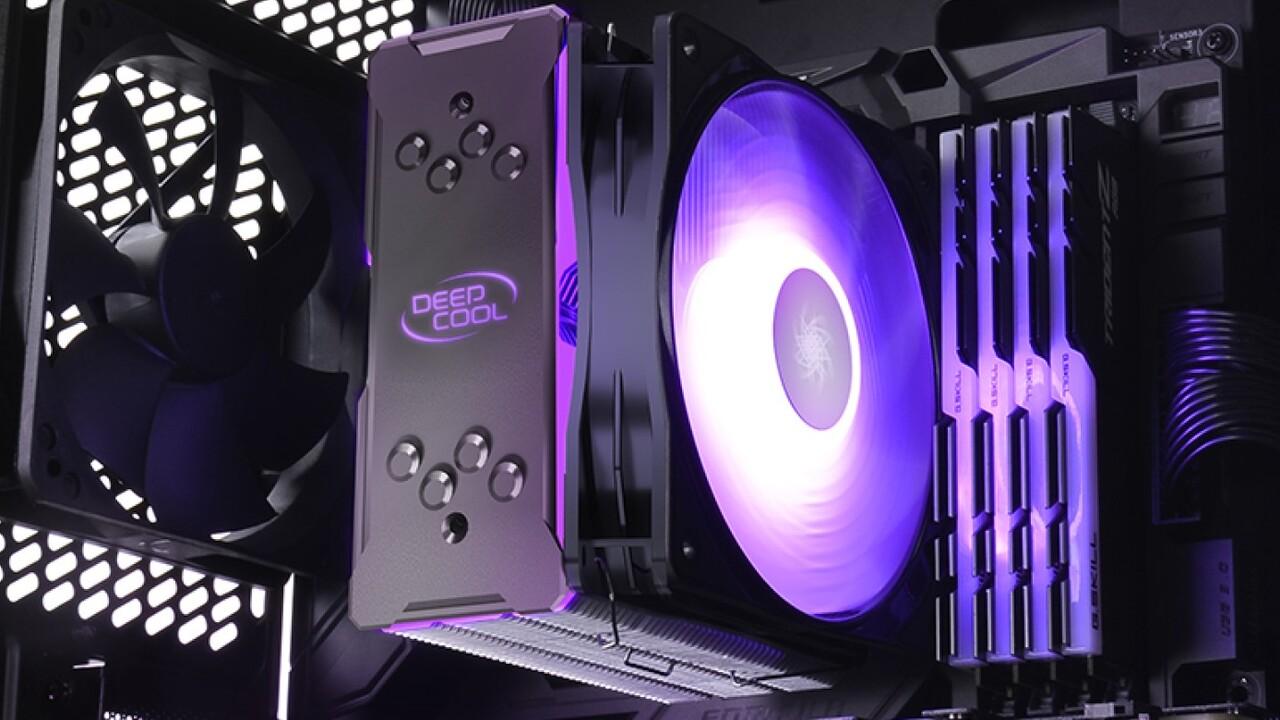 Deepcool Gammaxx GT A-RGB: CPU-Kühler mit ARGB-Lüfter wird schlanker und leichter