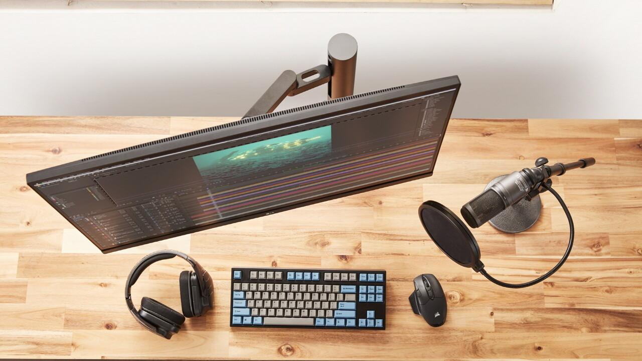 Neue LG-Monitore: IPS, 1 ms, 160 Hz für Spieler und Ergonomie fürs Büro