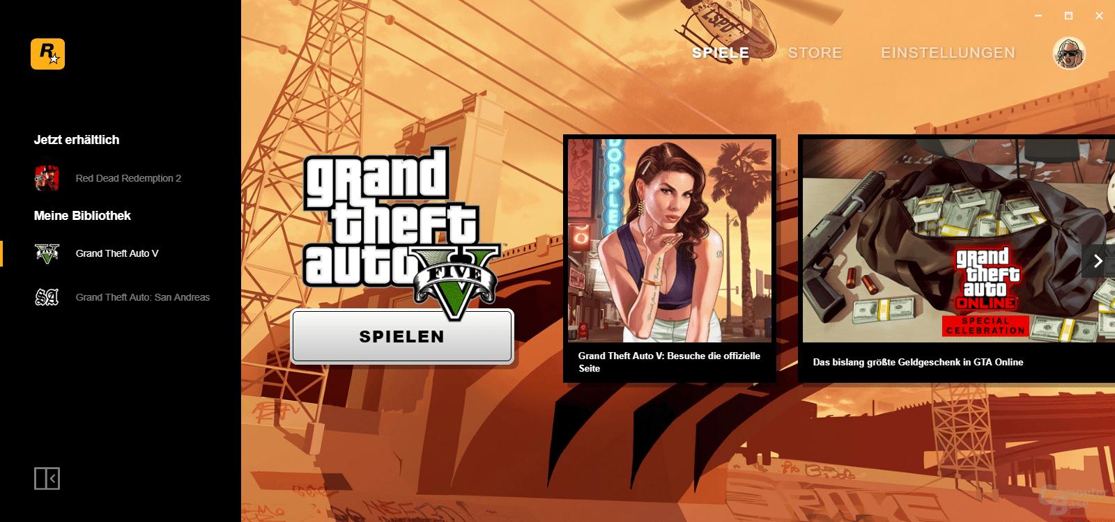 Rockstar Games Launcher – Übersicht