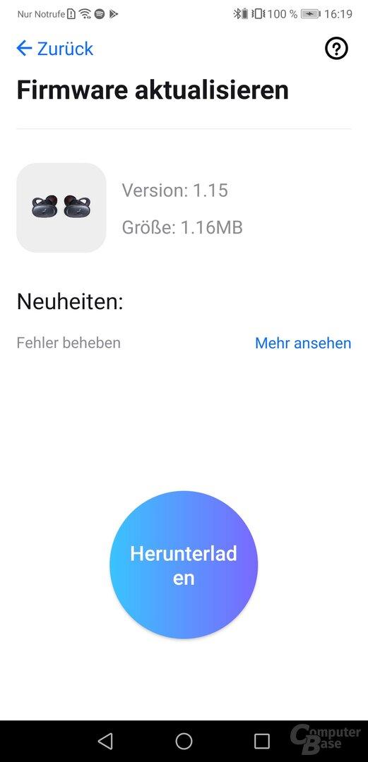Anker Soundcore-App