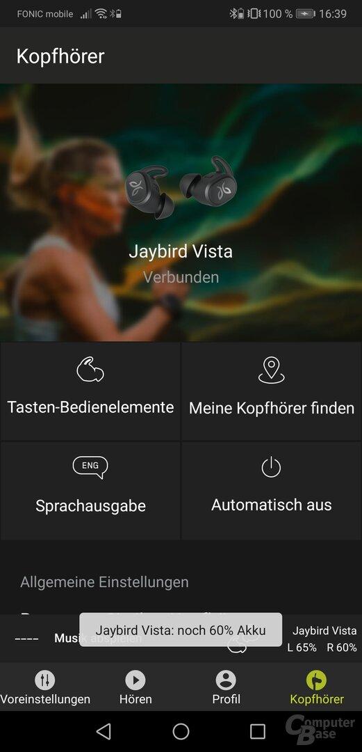 Jaybird-App