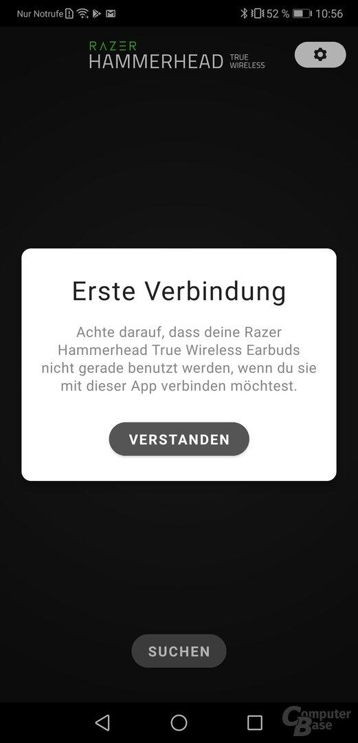 Razer Hammerhead-App