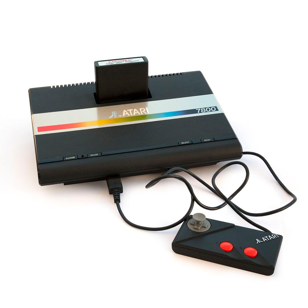 In Europa trat der Atari 7800 erfolglos das Erbe des VCS 2600 an