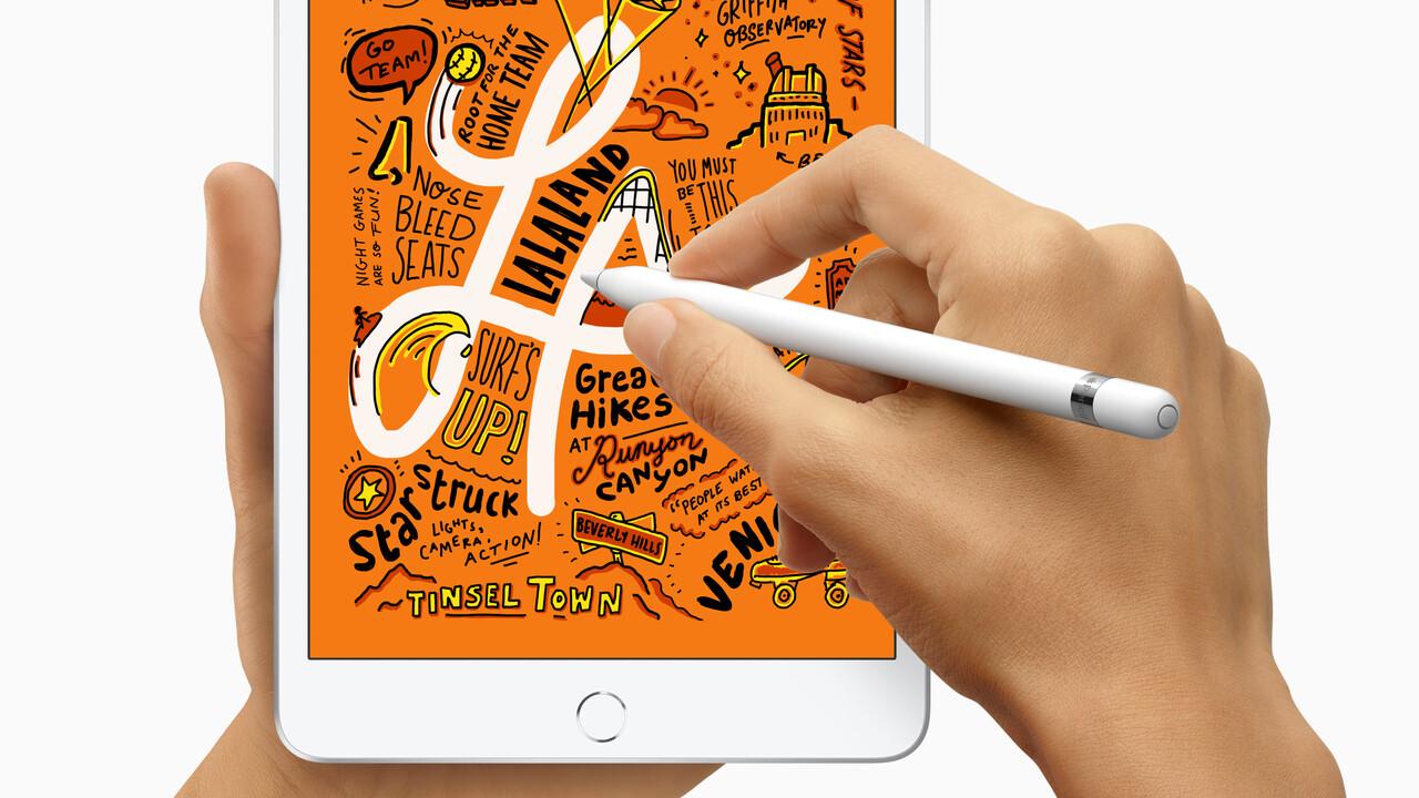 Apple Pencil: Haptisches Feedback soll für echtes Schreibgefühl sorgen