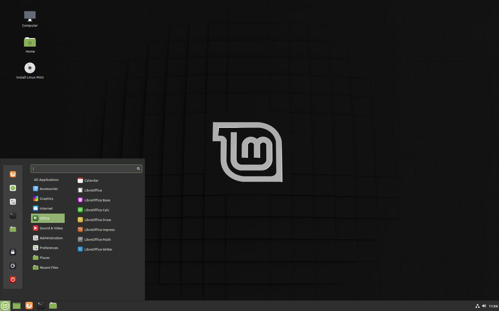 """Der Cinnamon-Desktop von Linux Mint 19.3 """"Tricia"""""""