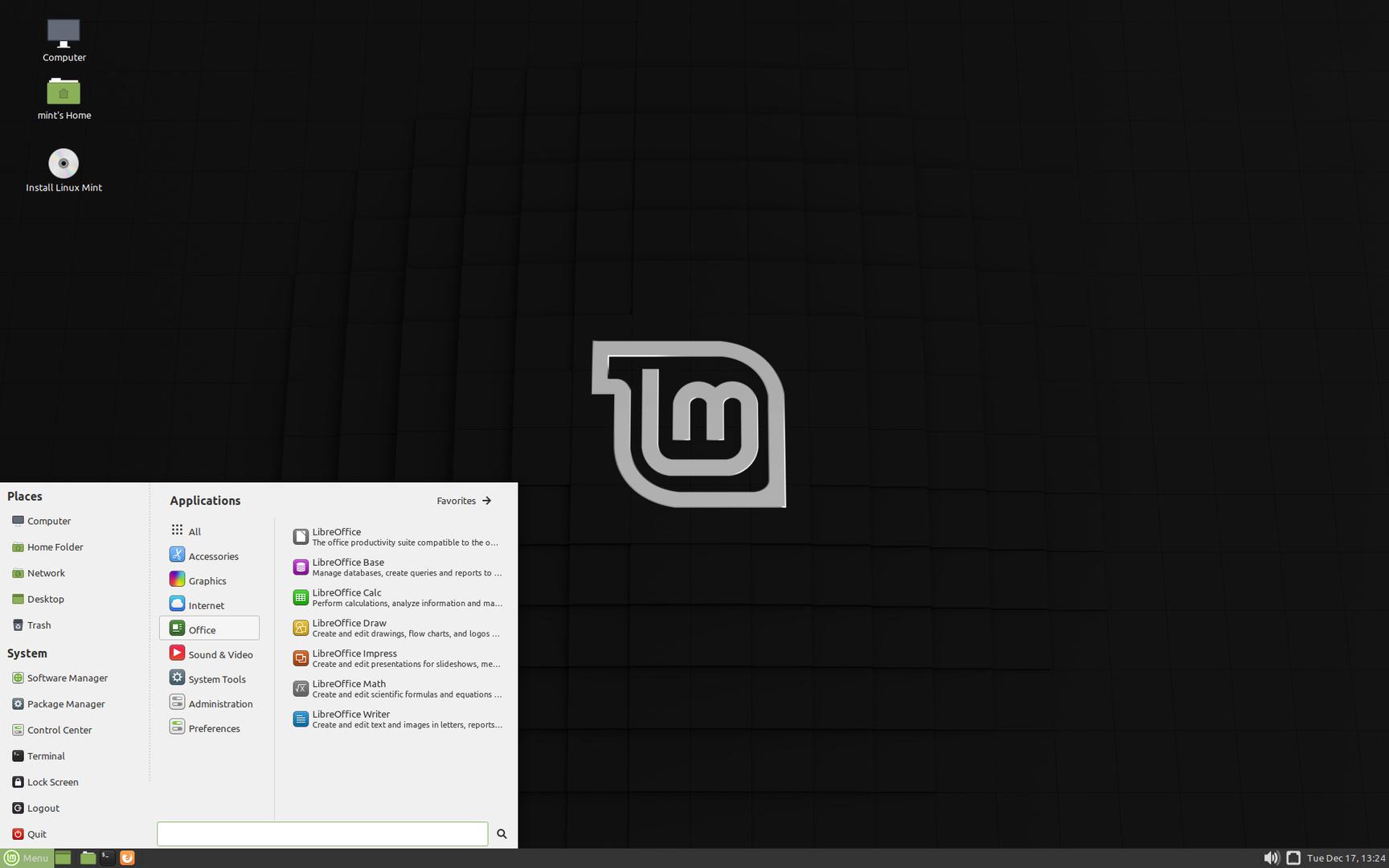 """Der MATE-Desktop von Linux Mint 19.3 """"Tricia"""""""