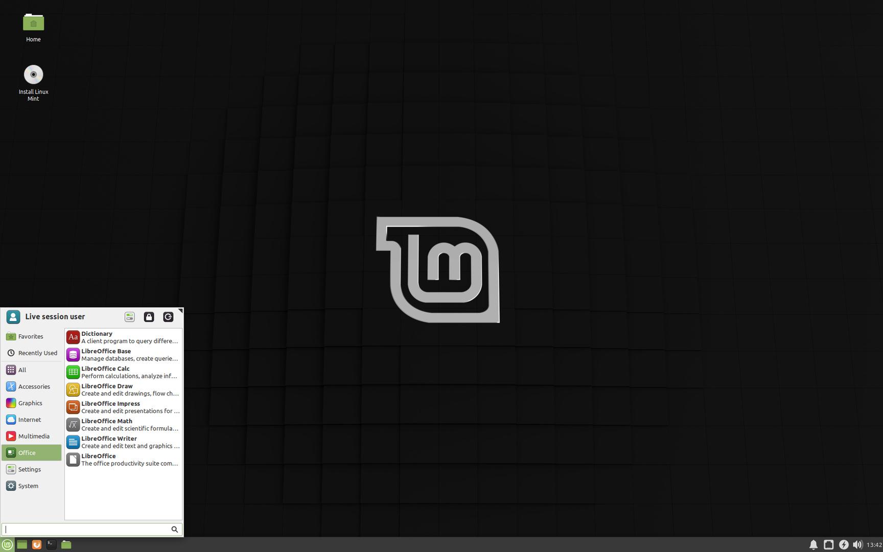 """Der Xfce-Desktop von Linux Mint 19.3 """"Tricia"""""""