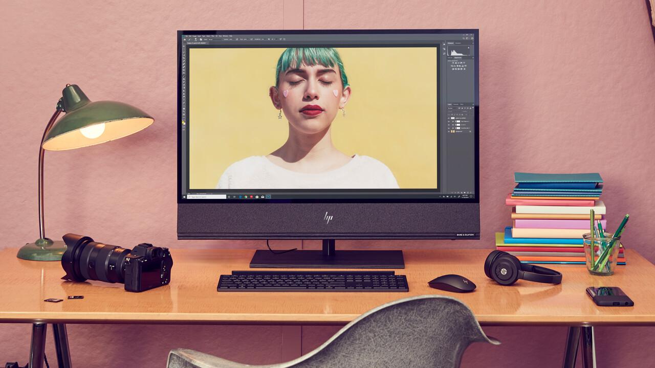 """HP Envy AiO 32 Zoll: Helles 32""""-UHD-Display trifft im AiO-PC auf RTX 2080"""