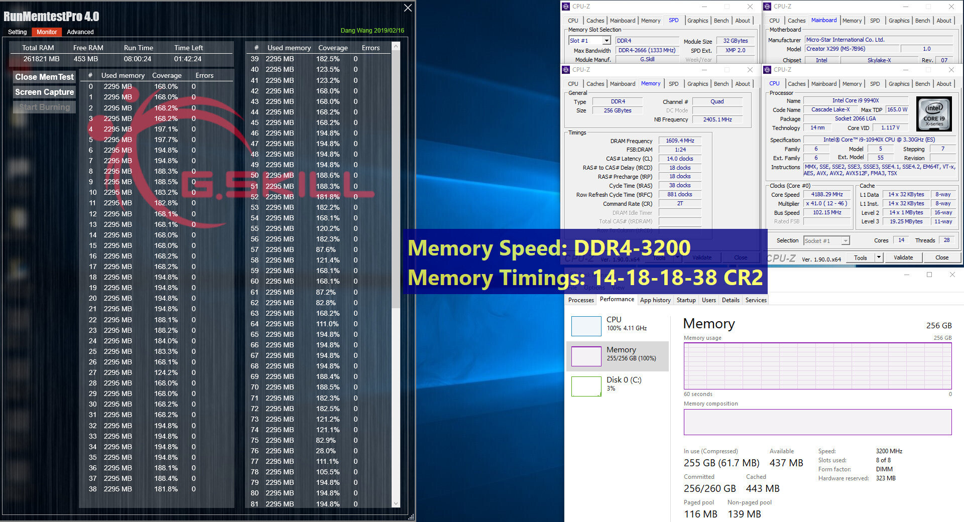 G.Skill Trident Z Neo und Trident Z RGB – Test mit 3.200 MHz (CL14)