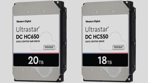Western Digital: Erste HDDs mit 18 und 20 TB werden bemustert