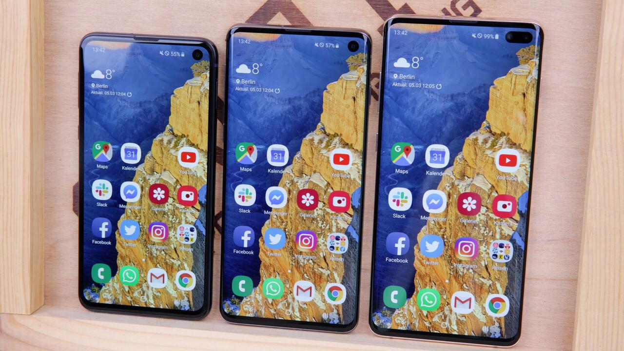Smartphone-Gerüchte: Auf Samsung Galaxy S10 folgt eventuell S20