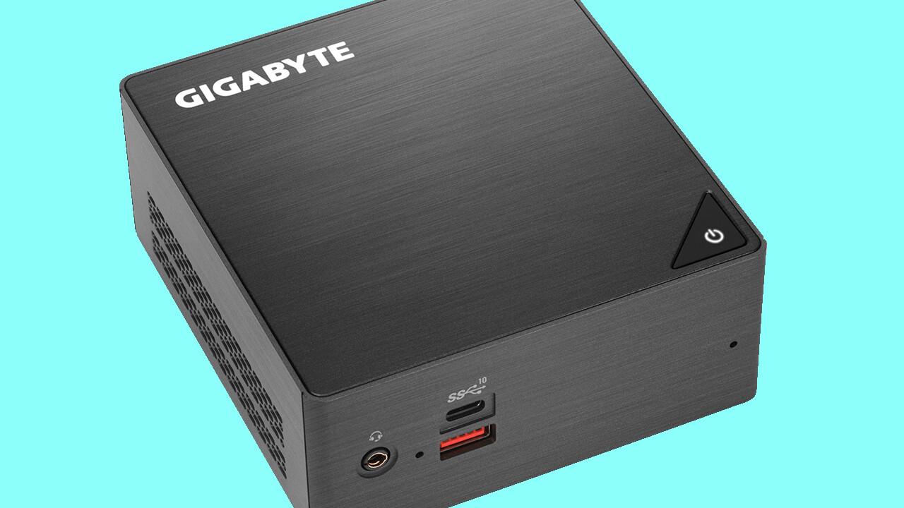 Gigabyte Brix Big Core: NUC-Gegenspieler kommt auch mit bis zu sechs Kernen