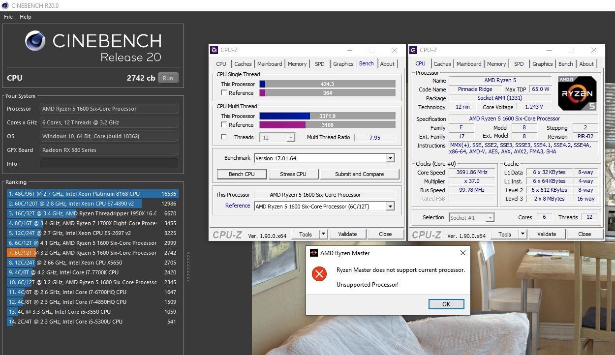 Neuer Ryzen 5 1600 mit Zen+ in 12 nm