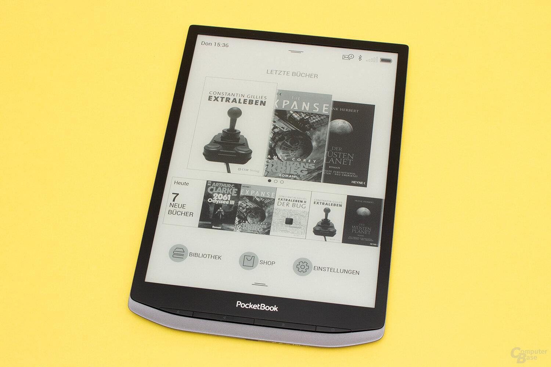 Das InkPad X mit 10,3 Zoll großem Display