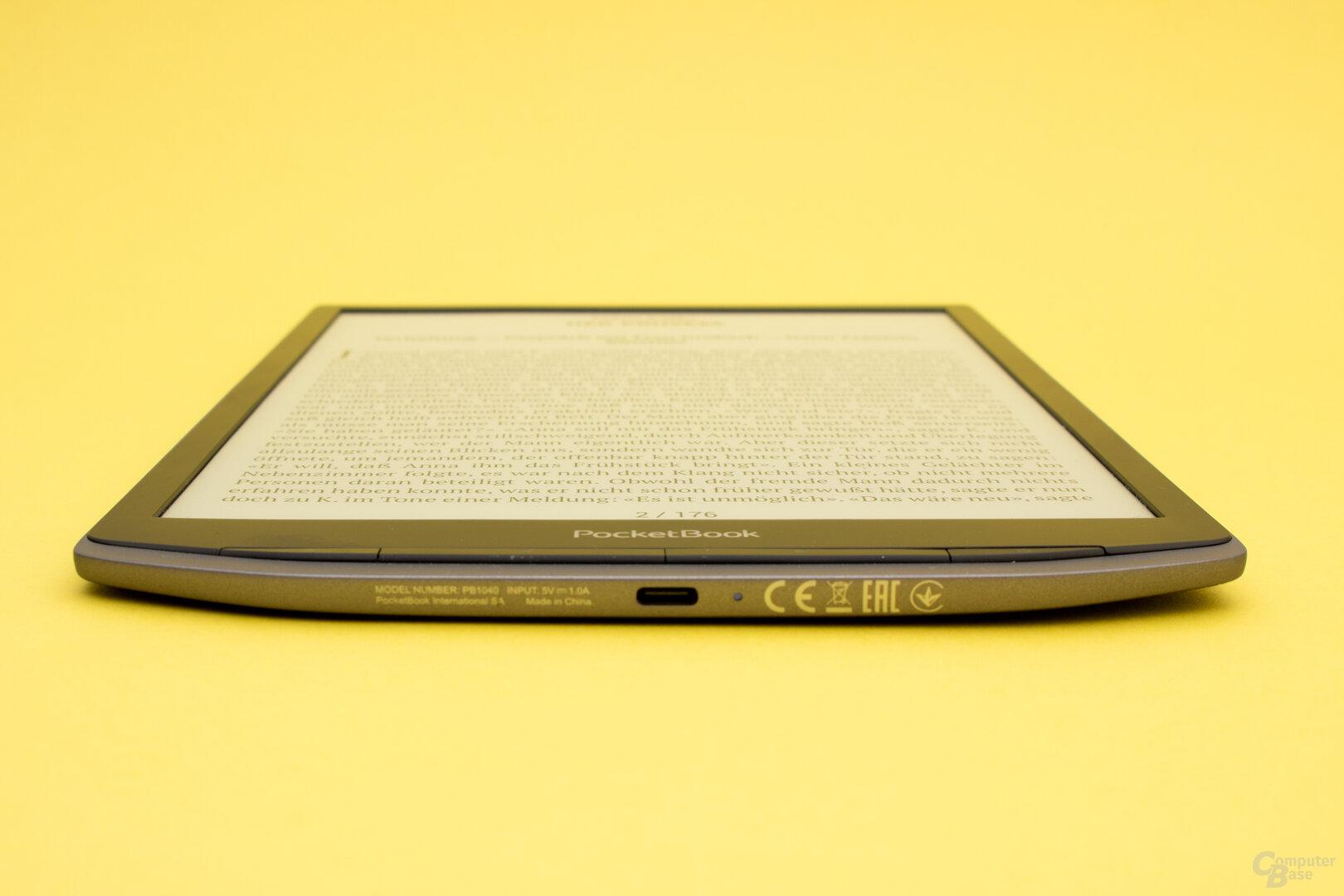 Das InkPad X lässt einen Kartenslot vermissen, bietet aber USB-C