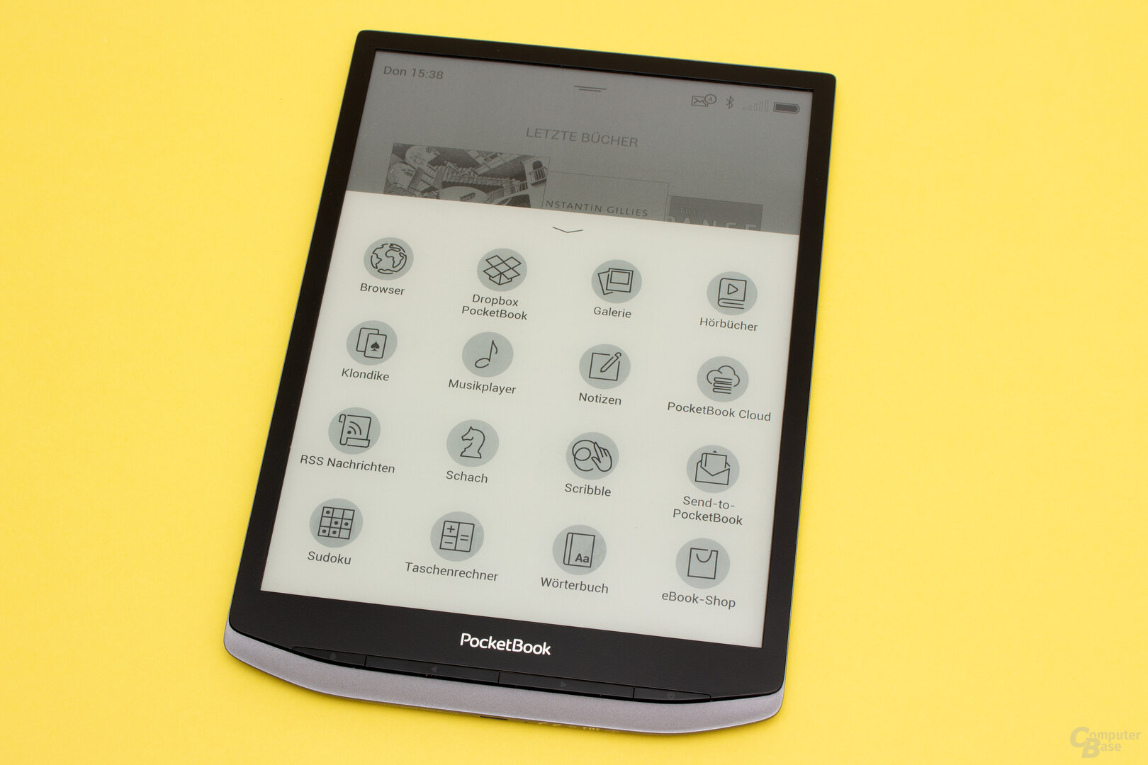 Auch das PocketBook InkPad X führt viele nützliche Tools mit sich