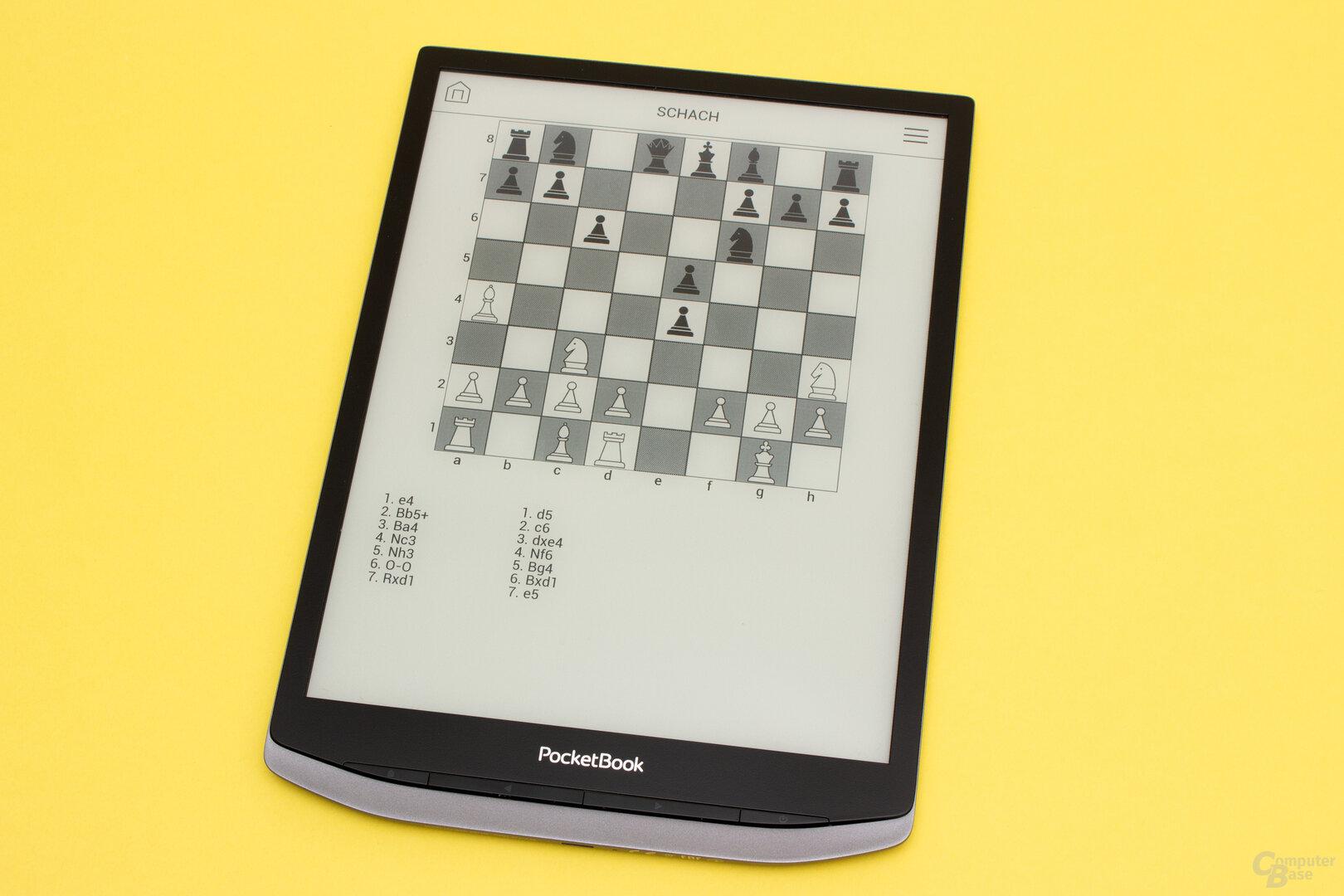 Ein kleine Schachpartie für zwischendurch