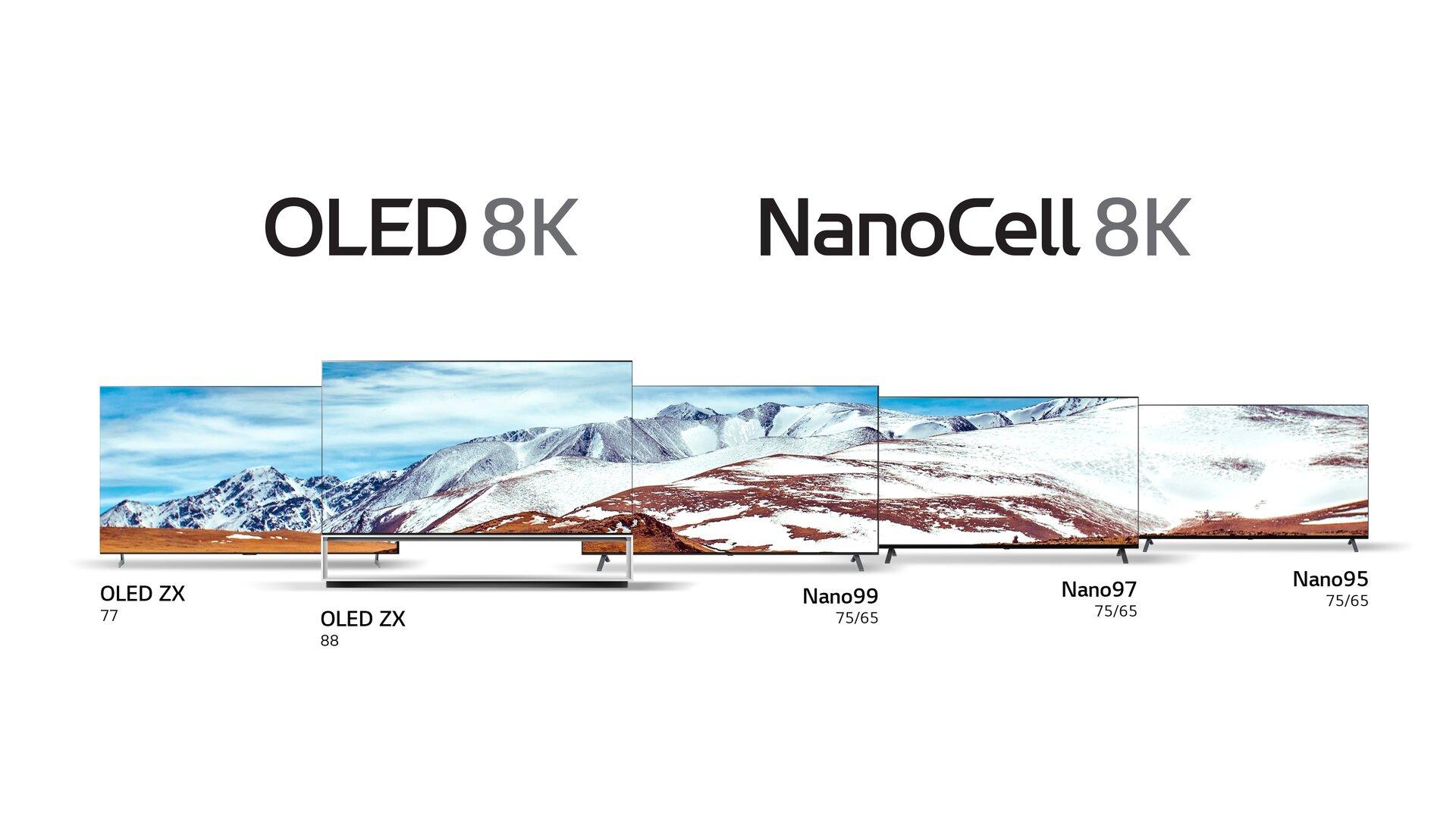LG-Fernseher mit 8K-Auflösung zur CES 2020