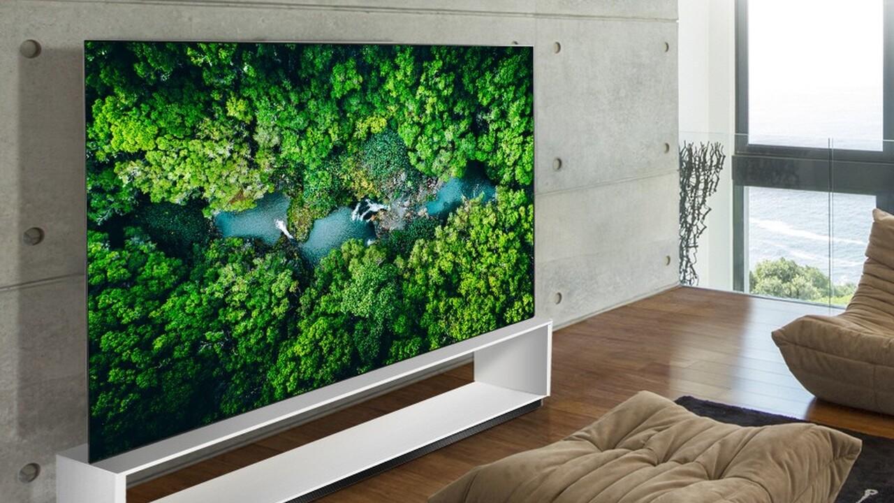 LG OLED und NanoCell: Neue 8K-Fernseher spielen AV1 und VP9 ab
