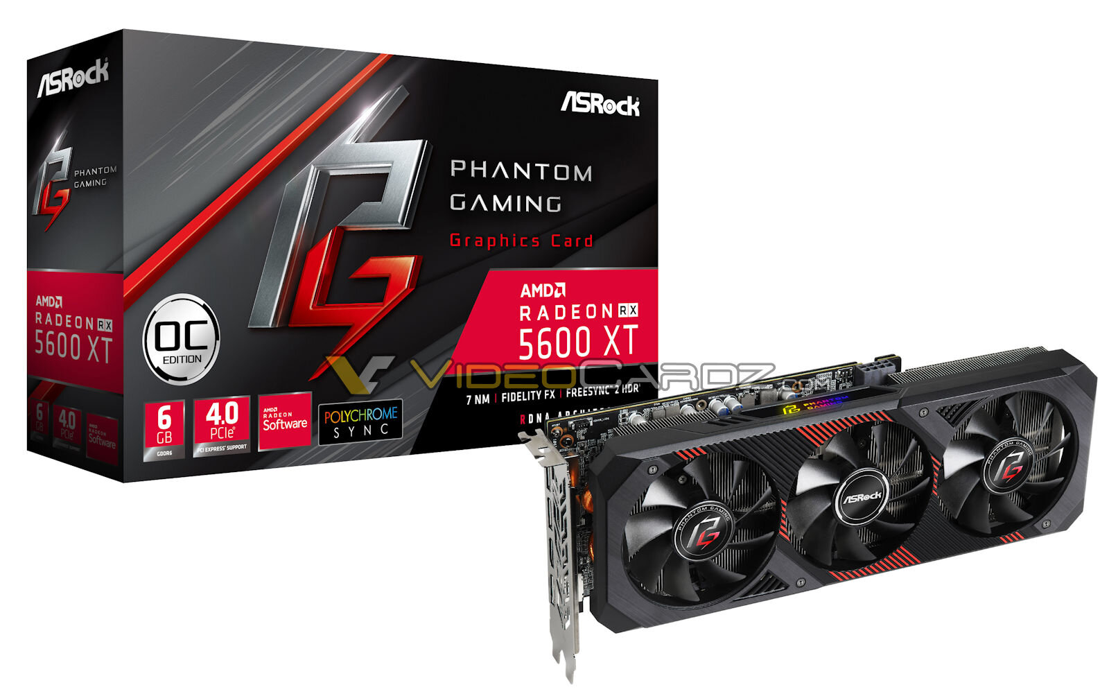 ASRock Radeon RX 5600 XT Phantom Gaming
