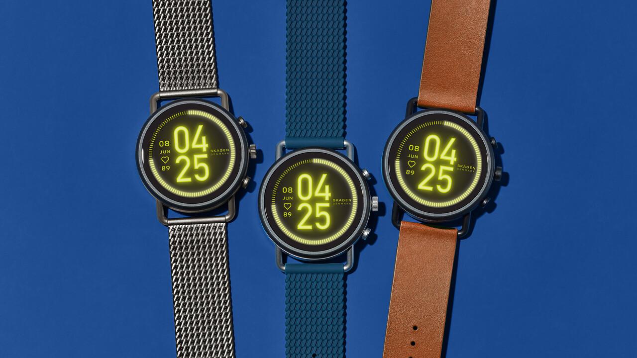 Skagen Falster 3: Runde Smartwatch mit Lautsprecher und SD 3100