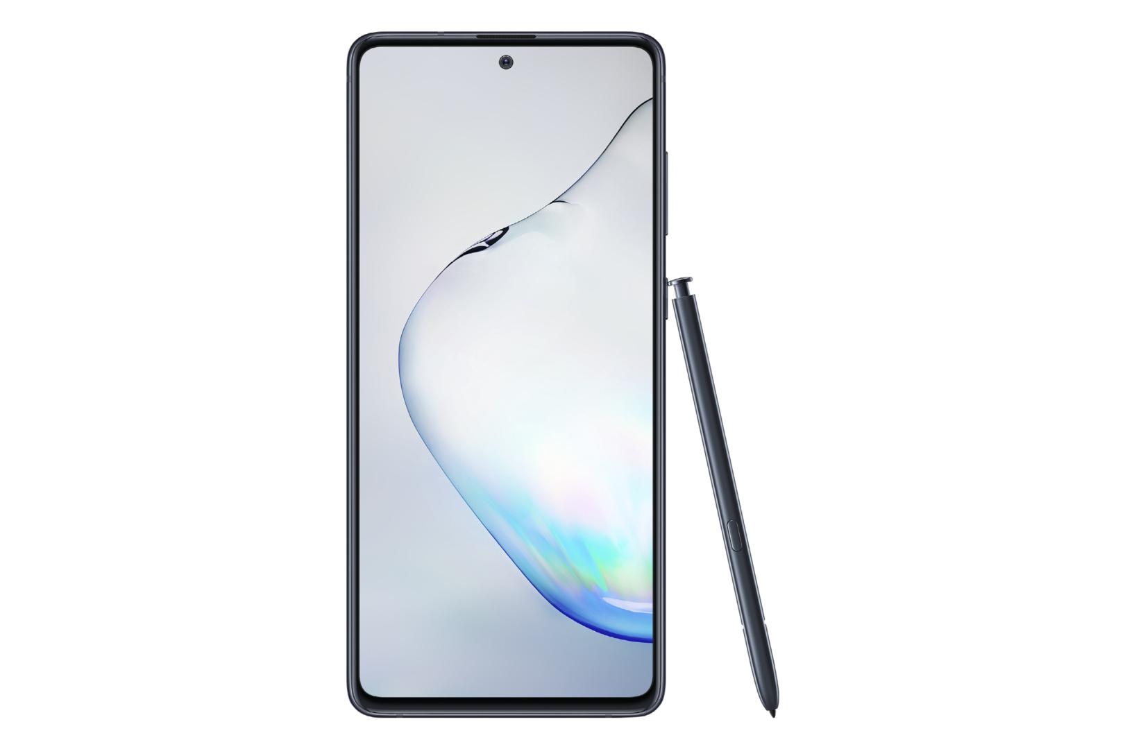 Galaxy Note 10 Lite in Aura Black